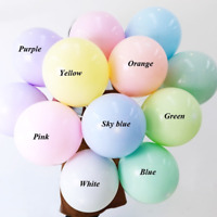 5Inch 30pcs Macaron Latex Balloons Baby Shower Birthday Wedding Party Wholesale