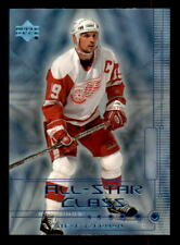 1999-00 Upper Deck All-Star Class #AS10 Steve Yzerman Red Wings (ref 34175)