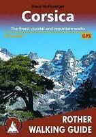 Corsica 80 walks walking guide by Wolfsperger, Klaus (Paperback book, 2016)