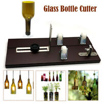 GLASS BOTTLE CUTTER JAR CUTTING MACHINE RECYCLE TOOL CRAFT METAL JAR ORNAMENT