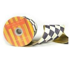 "MacKenzie-Childs Courtly Check 4"" Ribbon 4"" W X 10 yards H"