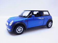 47686 | Welly BMW Mini Cooper R50/R53 2001-2006 Modellauto blaumetallic 1:35 NEU