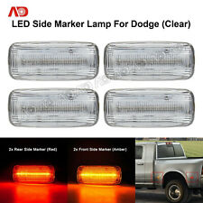 2-IN-1 LED Side Marker Light Turn Sigal Lamp For Dodge Ram 2500/3500HD 10-18