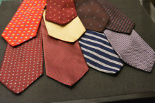 Lot of 9 BROOKS BROTHERS Neckties - incredibly cheap price! Grab it!  F4
