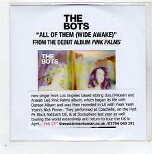 (GD626) The Bots, All Of Them (Wide Awake) - 2014 DJ CD
