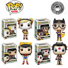 Set of 4 Funko Pop! Heroes: DC Bombshells Pre-Order Free Shipping Included!