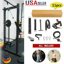DIY Fitness Pulley Cable Gym Workout Equipment Machine Attachment System Indoor
