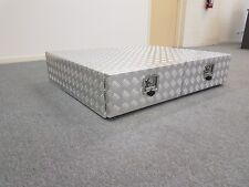 2 Draw Alloy Checkerplate Toolbox