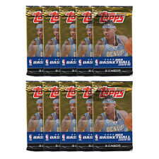 2009-10 Topps Basketball 8ct Retail 10-Pack Lot