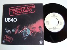 "UB40 : The earth dies screaming / Dream a lie 7"" 45T 1980 VOGUE GRADUATE 101386"