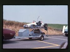 Go Carts / Midget Race Cars on Trailer - c1968 - Vintage 35mm Race Slide