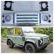LAND ROVER FRONT Silver  SVX DEFENDER Grille HEADLAMP SURROUND Complete NEW