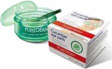 5x Puerderm - 24 pcs CUCUMBER EYE PADS - Tired Puffy Fatigue Aloe Vera UK