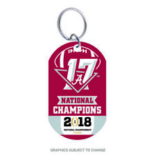 Alabama Crimson Tide National Champions Aluminum Key Ring