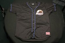 Rawlings #55 Black Buffalo Bisons Jersey