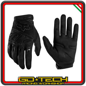 GUANTI FOX DIRTPAW 2020 Nero MOTO CROSS ENDURO MOTARD ATV CICLISMO BICI MTB BMX