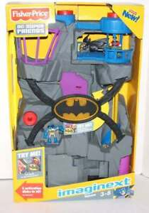 NEW Fisher Price Imaginext Batcave 2011 V8945