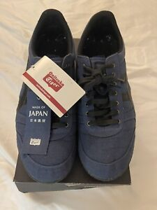 Onitsuka Tiger Mens Ultimate 81 Textile Low Lace Sneakers Shoes Size 10