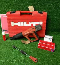 HILTI DX A41 F8 Nail Gun  Cartridge Hammer C/W 200 Nails & Cartridges  REF 8173B