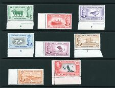 FALKLAND ISLANDS 1952 values to 1/3 marginal MNH condition.