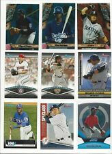 2011 BOWMAN INSERTS - BEST, BRIGHTEST, TOPPS 100,  FUTURES + ALL LISTED - U PICK