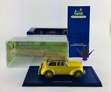 Voiture Tintin Atlas Moulinsart 1/43 19 Opel Olympia / Sceptre d'Ottokar