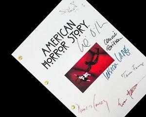 American Horror Story TV Script Pilot Signatures Autographs Reprint AHS Jessica