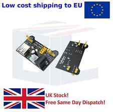 Breadboard Power Supply Module PSU 3.3V & 5V MB102 for Arduino - UK seller