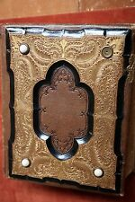 Antique Photo Album w/ individual & Group Portraits, Decades of Late 1800's