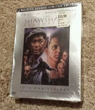 The Shawshank Redemption (Dvd, 2004, 2-Disc Set, Deluxe Limited Edition) New Oop