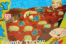 NEW Family Guy STEWIE Baby Comfy THROW Fleece Blanket Sleeves Snuggie Robe 48x71