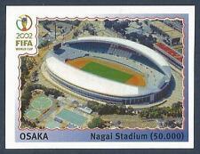 PANINI KOREA/JAPAN WORLD CUP 2002- #021-OSAKA NAGAL STADIUM-CAPACITY 50,000