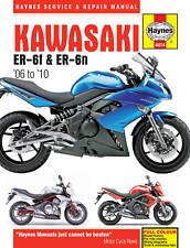 HAYNES WORKSHOP MANUAL KAWASAKI ER-6 ER-6F ER6 ER6F