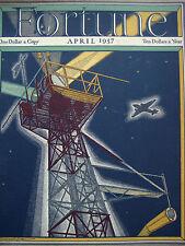 FORTUNE April 1937 Spanish Civil War, Colorado River GOYA Natural History Museum