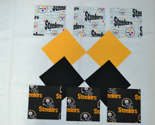 PITTSBURGH STEELERS GROUPING 5 Inch Quilt Squares (40)