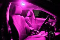 Isuzu D-Max 2008-2013 Double Dual Cab Bright Purple LED Interior Light Kit