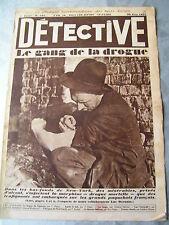 Détective 1932 192 FIGUERAS MORPHINE VIEUX CONDé ANZIN ANTIBES BOIS DE BOULOGNE