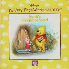 DISNEY'S My Very First Winne the Pooh Series POOH'S NEIGHBORHOOD 1998 New