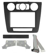 Radio-Adapter 2DIN Schwarz BMW 1 (E87) '07>'11  Artikelnummer: 03670