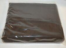 Ralph Lauren Regent Dark Brown Queen Flat Sheet New 600TC Supima Cotton Sateen
