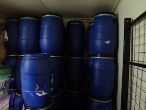 30L STORAGE DRUM /STORAGE CONTAINER/SEED, FOOD, FABRIC, CAMPING (20 available)