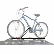 Single Upright Roof Bicycle Carrier Rack with Locking Clamp