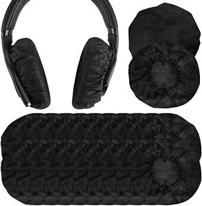 Stretchable and Washable Sanitary Earcup for Over-Ear Headphone use Gym training