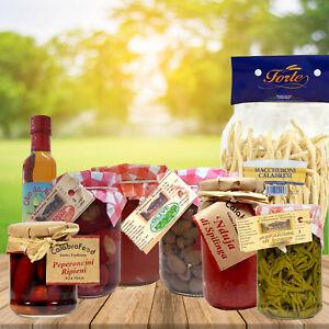 Pacco Regalo Cesto Prodotti di Gastronomia Tipici Calabresi Nduja di Spilinga 9