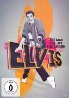 ELVIS PRESLEY - THE MAN,THE LIFE (PRIV.VIDEOS TEILS UNVERÖFFENTLICHT)  DVD NEU
