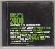 (GX318) Unconditionally Guaranteed, 19 tracks various artists- Dec 2000 Uncut CD