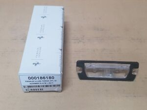 GENUINE Ferrari 512BB BBi Number Licence Plate Lamp #00186180