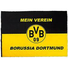 BVB Borussia Dortmund Hissfahne Mein Verein Fahne Flagge 200 x 150 cm Neu