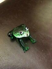 Cute Glass Frog Ornament