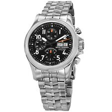 Revue Thommen Pilot Black Dial Stainless Steel Automatic Watch 17081.6137